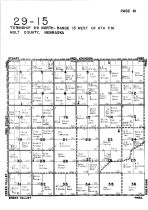 Township 29 North - Range 15 West, Holt County 1948